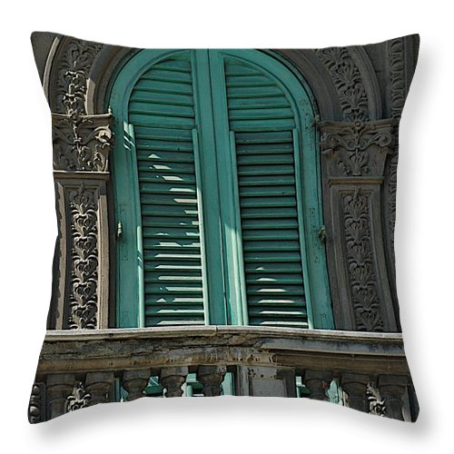 Architecture Throw Pillow featuring the photograph Morning Sun by Joseph Yarbrough