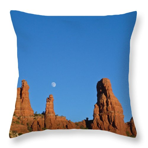 Throw Pillow featuring the photograph Mother And Child 21 by Douglas Barnett