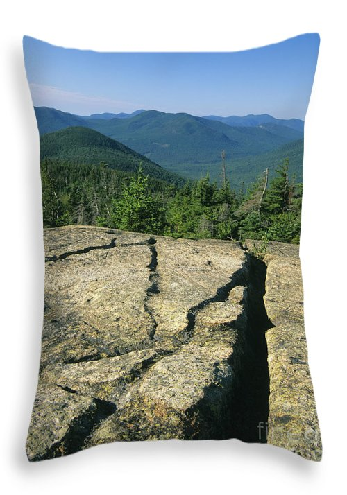 Hike Throw Pillow featuring the photograph Mount Crawford - White Mountains New Hampshire by Erin Paul Donovan