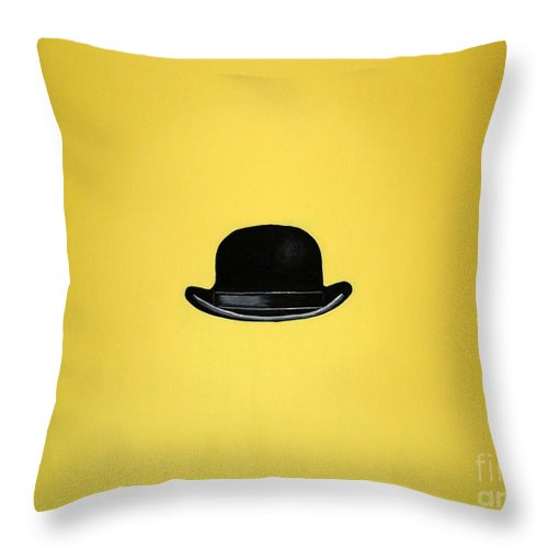 Mr. Brightside Throw Pillow featuring the painting Mr. Brightside by Venus