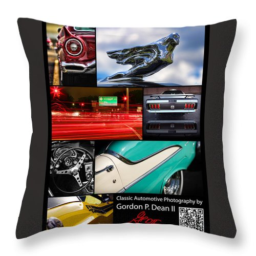 1968 Throw Pillow featuring the photograph My Business Card by Gordon Dean II