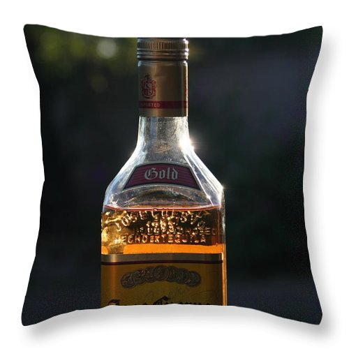 David S Reynolds Throw Pillow featuring the photograph My Friend Jose by David S Reynolds