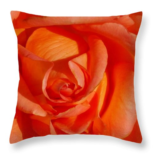 Rose Throw Pillow featuring the photograph My Heart by Christiane Schulze Art And Photography