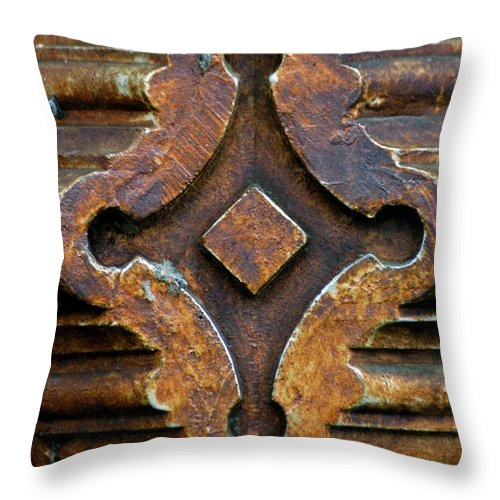 Cast Iron Throw Pillow featuring the photograph Nashville Cast by Joseph Yarbrough