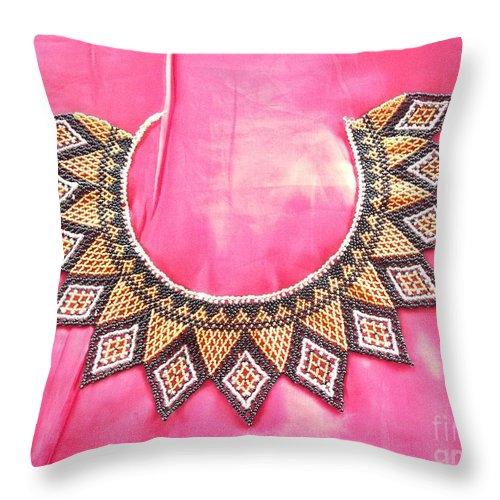 Native Panamanian Throw Pillow featuring the photograph Native Panamanian 4 by Vladimir Berrio Lemm