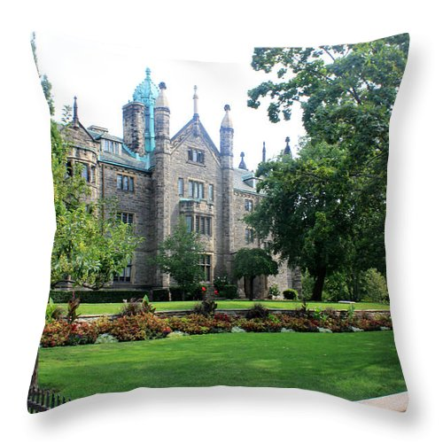 Neighbors Throw Pillow featuring the photograph Neighbors by Munir Alawi