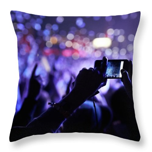 Event Throw Pillow featuring the photograph Never Forget This Moment by Peopleimages