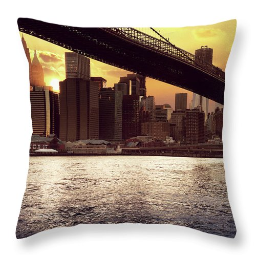 Tranquility Throw Pillow featuring the photograph New Beginnings by Aleks Ivic Visuals