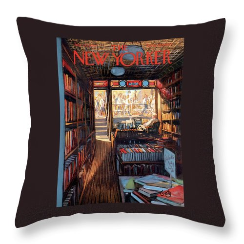 New Yorker July 20th, 1957 Throw Pillow