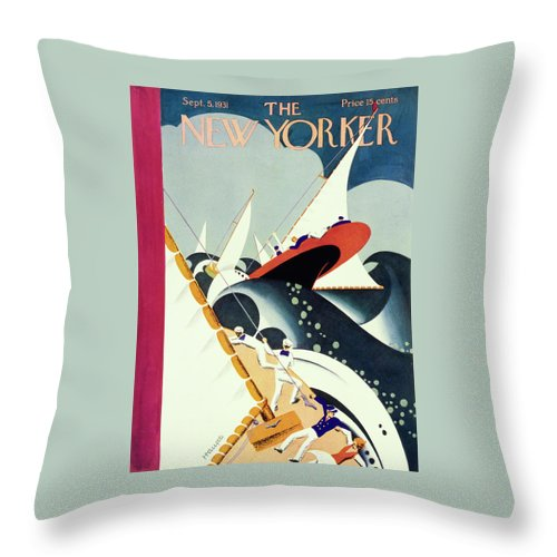 New Yorker September 5 1931 Throw Pillow