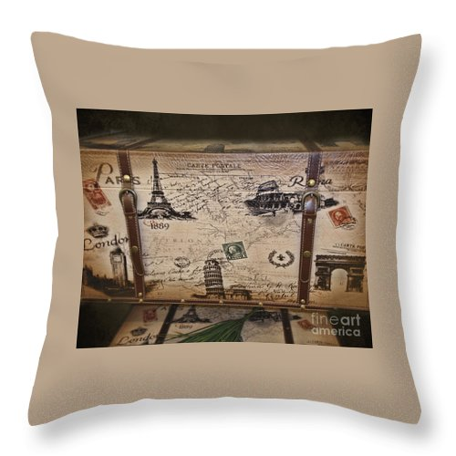 London Throw Pillow featuring the photograph Next Stop London by TN Fairey