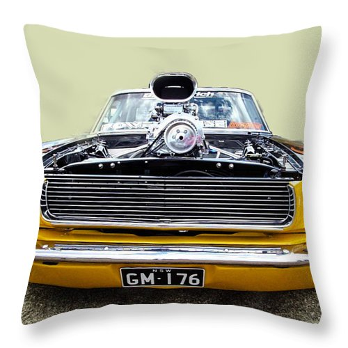 Cars Throw Pillow featuring the photograph Nice Car by Michael Podesta