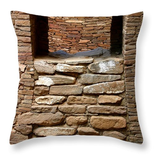 Ruins Throw Pillow featuring the photograph No Way In Or Out by Joe Kozlowski