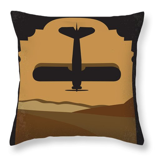 English Throw Pillow featuring the digital art No361 My The English Patient Minimal Movie Poster by Chungkong Art
