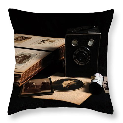 Vintage Throw Pillow featuring the photograph Nostalgia by Randi Grace Nilsberg