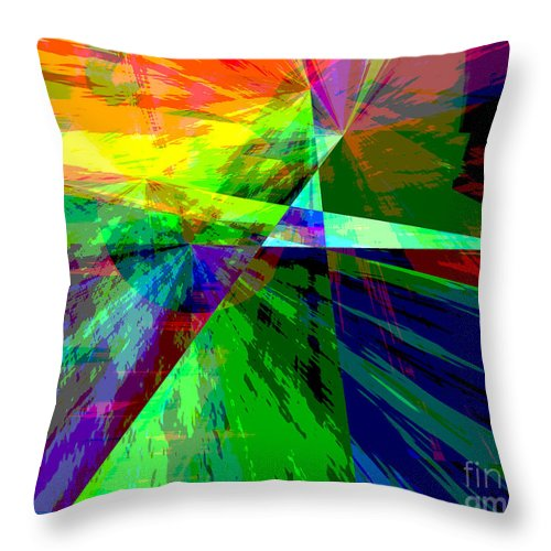 Not Gray Throw Pillow featuring the digital art Not Gray - Kristi Kruse by Kristi Kruse