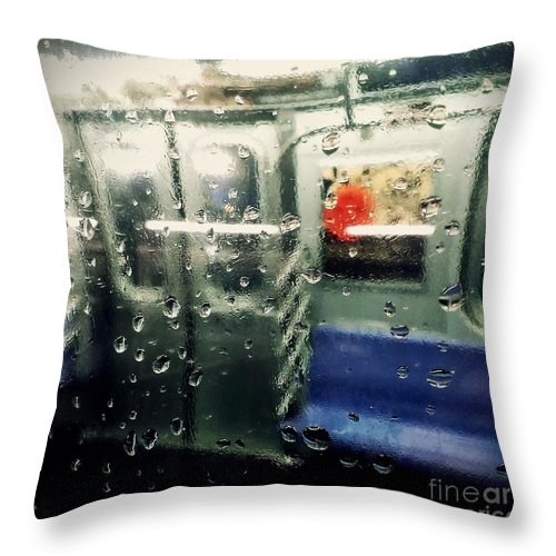 New York City Throw Pillow featuring the photograph Not In Service by James Aiken