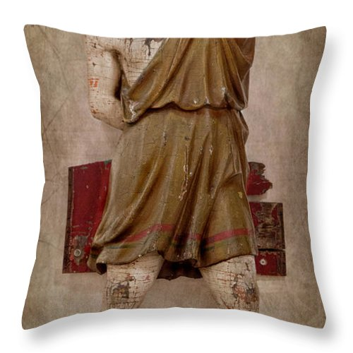 Man Throw Pillow featuring the photograph Nothing Right by K Hines