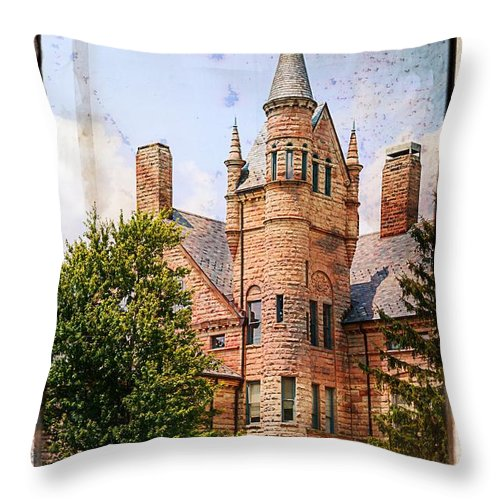 Oberlin College Throw Pillow featuring the photograph Oberlin College by Mary Timman