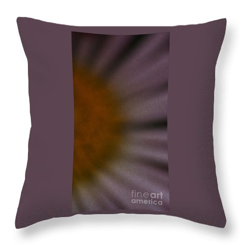 Flower Throw Pillow featuring the photograph Obscure by Linda Shafer