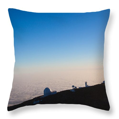 La Palma Throw Pillow featuring the photograph Observer by Ralf Kaiser