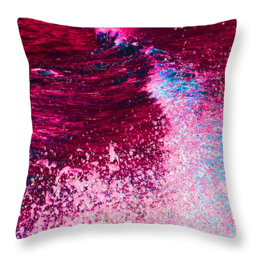 Mars Throw Pillow featuring the photograph Oceans Of Mars by Ron Tackett