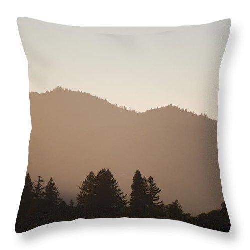 Becky Furgason Throw Pillow featuring the photograph #offthegrid by Becky Furgason