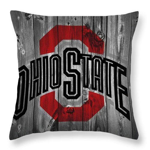 Ohio State University Throw Pillow For Sale By Dan Sproul