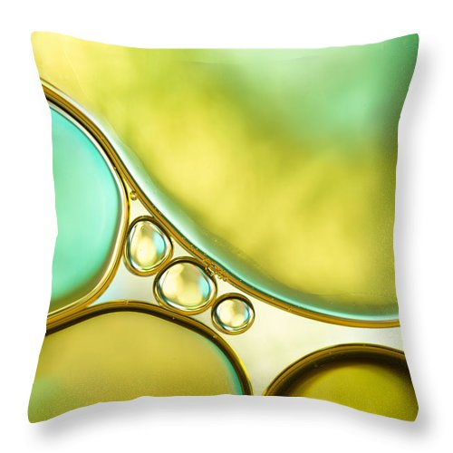 Cambridgeshire Throw Pillow featuring the photograph Oil And Water by Mandy Disher Photography