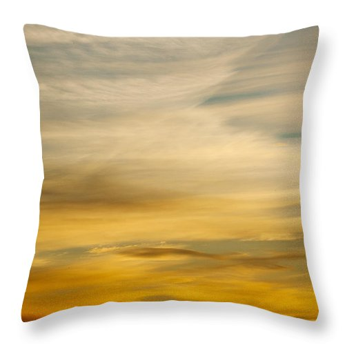Red Throw Pillow featuring the photograph Okanagan Sunrise 1 by Laura Tucker