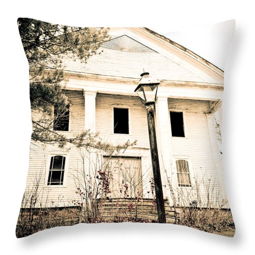 Church Throw Pillow featuring the photograph Old Church by Maggy Marsh