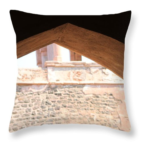 Palace Throw Pillow featuring the photograph Old Style From The 16th Century by Four Hands Art