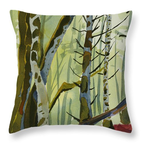 On Ivy Hill Throw Pillow for Sale by Alexandra Schaefers