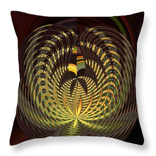 Butterfly Throw Pillow featuring the photograph On The Wings Of A Butterfly by Addie Hocynec