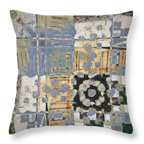 Carol Leigh Throw Pillow featuring the photograph Orchards And Farms Number 2 by Carol Leigh