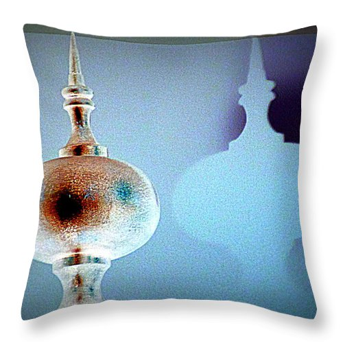 Ornament Throw Pillow featuring the photograph Ornamentation Versus Decoration by Randall Weidner