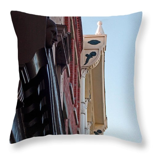 Scenic Tours Throw Pillow featuring the photograph Ornate Surprises by Skip Willits