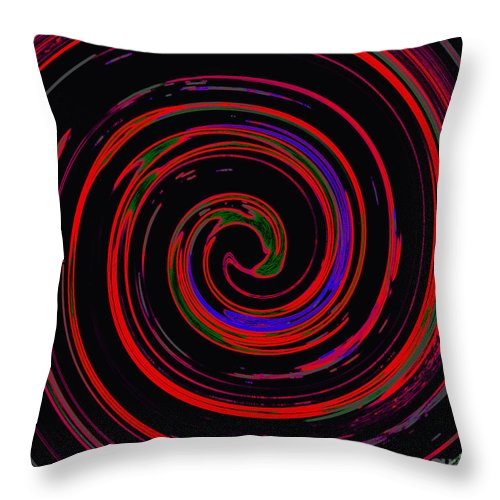 Throw Pillow featuring the photograph Outside The Box by Kelly Awad