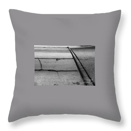 Landscape Throw Pillow featuring the photograph Overflowed Sinlence by Fei A