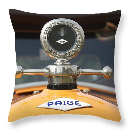 Glenmoor Throw Pillow featuring the photograph Paige by Jack R Perry