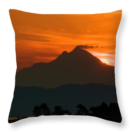 Greece Throw Pillow featuring the digital art A New Dawn by Roy Pedersen