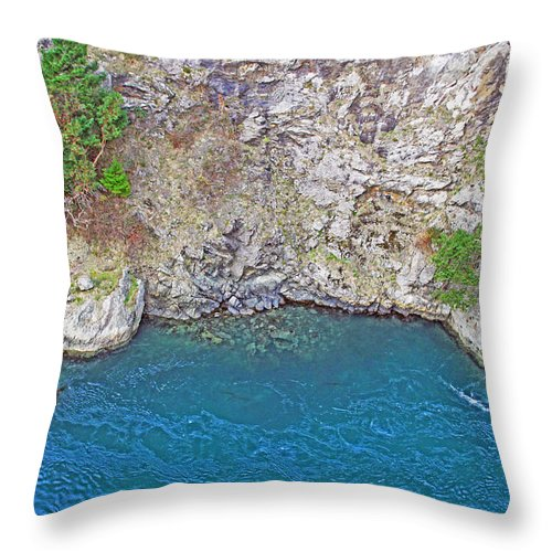 Nature Throw Pillow featuring the photograph Paradise by Brad Walters