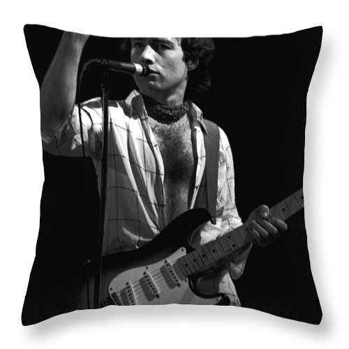 Paul Rodgers Throw Pillow featuring the photograph One More Thing by Ben Upham