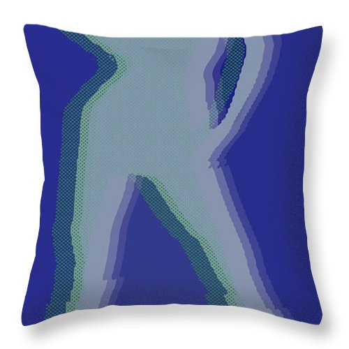 Peace Throw Pillow featuring the painting Peace Woman by Tony Rubino