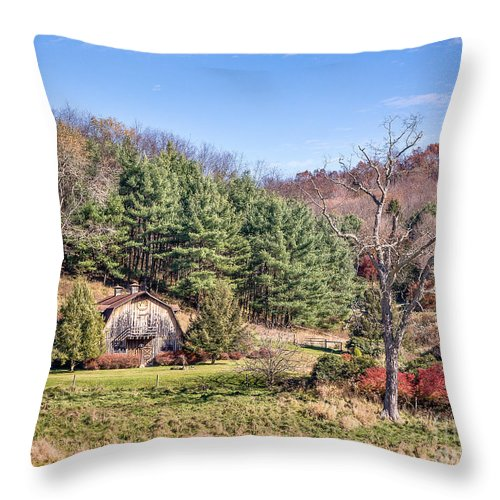 2013 Throw Pillow featuring the photograph Peaceful Late Autumn by John Waclo