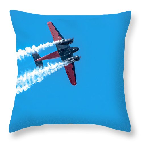 War Throw Pillow featuring the photograph Plan In Action by Amel Dizdarevic