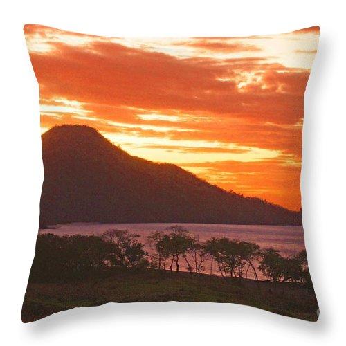 Photographic Throw Pillow featuring the photograph Playa Matapalo Costa Rica by Jonathan Steward