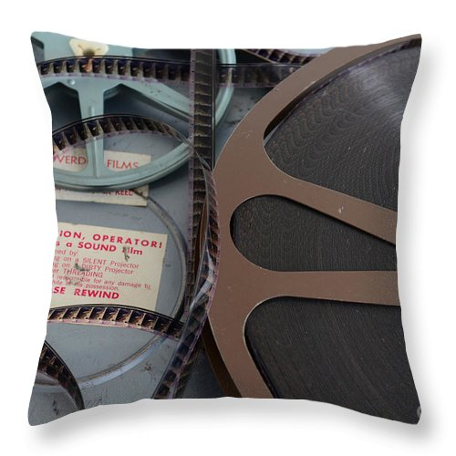 Paul Ward Throw Pillow featuring the photograph Please Rewind by Paul Ward