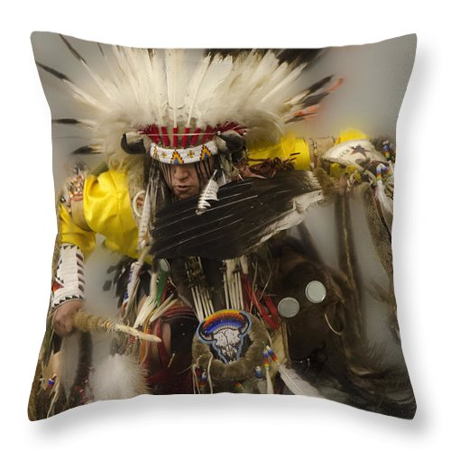 Pow Wow Days Of Thunder Throw Pillow