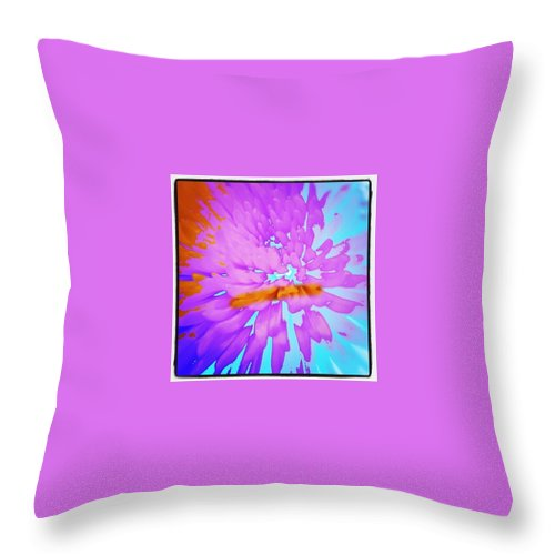 Art Throw Pillow featuring the photograph Power by Jacqueline Schreiber